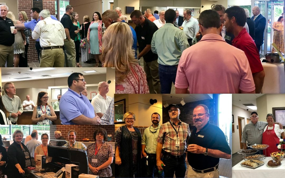 PCUD HOSTS AREA CHAMBER COFFEE