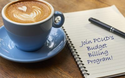 PCUD IS TAKING APPLICATIONS FOR BUDGET BILLING PROGRAM